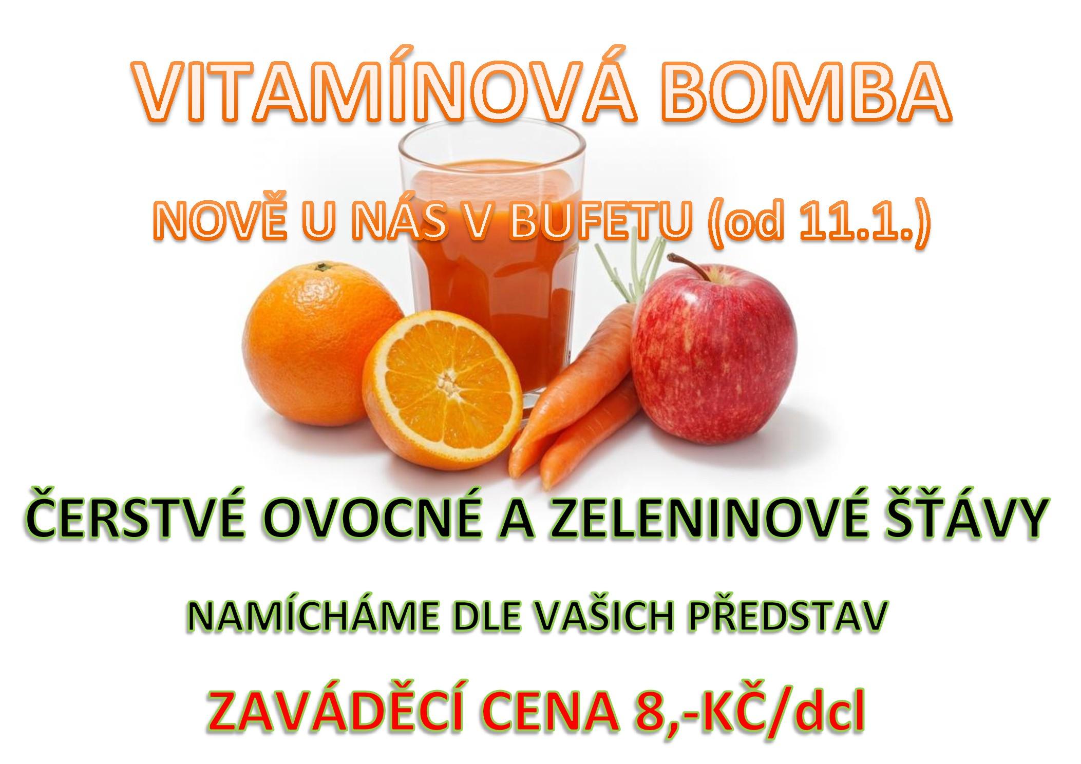 Zavádíme prodej zdravých nápojů pro Vaše děti .