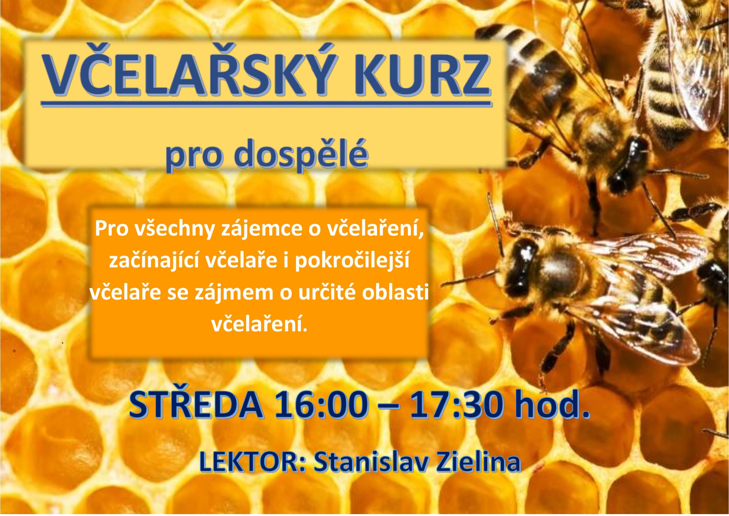 Včelařský kurz pro dospělé